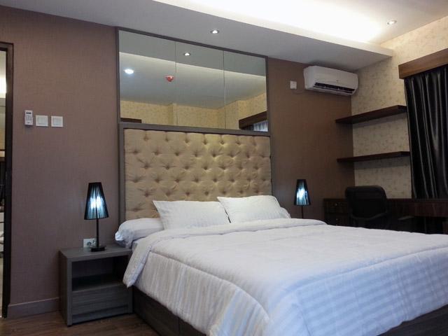Bedroom 02 Apartemen Mr. Ferry Taman Sari