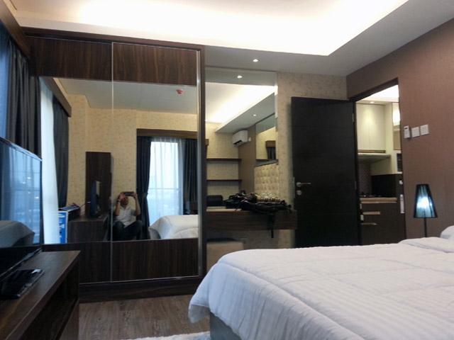 Bedroom Apartemen Mr. Ferry Taman Sari