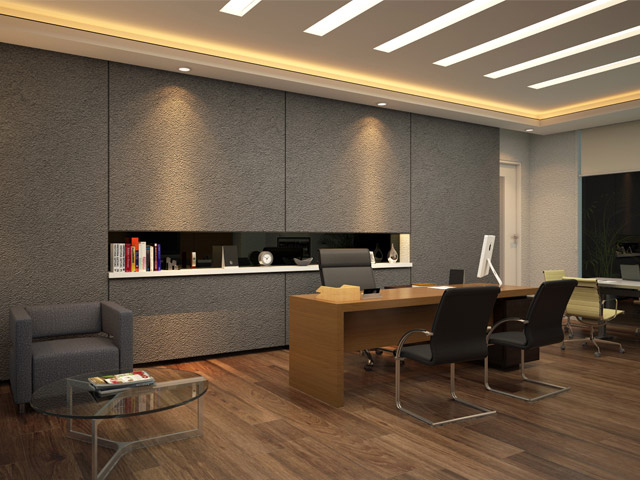 Director room Indrillco Group Office