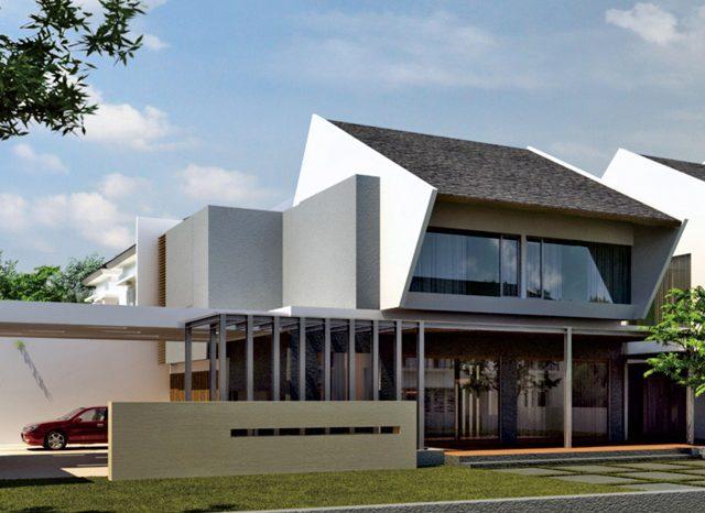 Fasad Simprug Residence