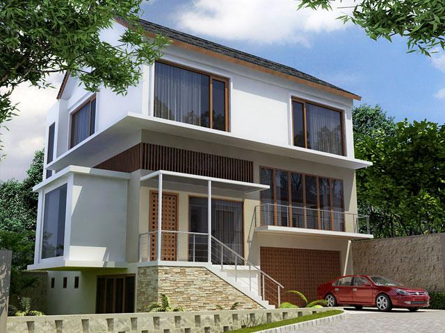 Fasad Ciputat Residence