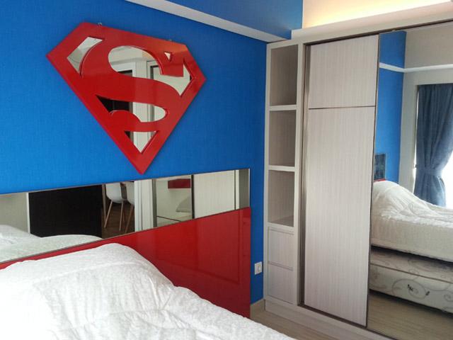 Kamar anak Mr. Subhan H Residence
