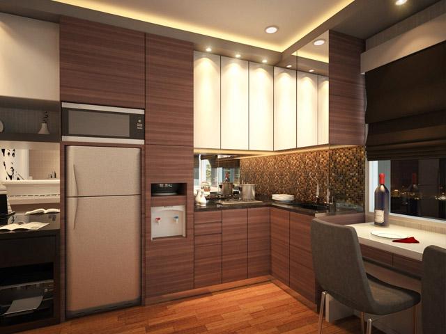 Kitchen Apartemen Mrs Indri Cervino