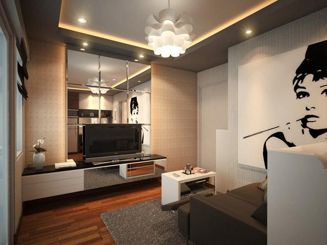 Living Apartemen Mrs Indri Cervino