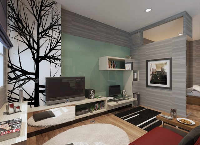Living room 2 Apartemen Mrs. Indah Menteng SQ