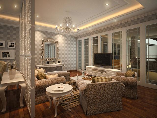 Living room Mr. Andri Tebet Residence