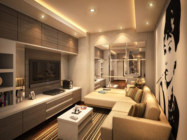 Living room Mr. Fauzi Kalibata