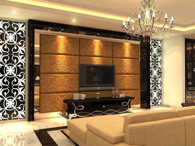 Living room Mrs. Marla Cempaka Putih Residence