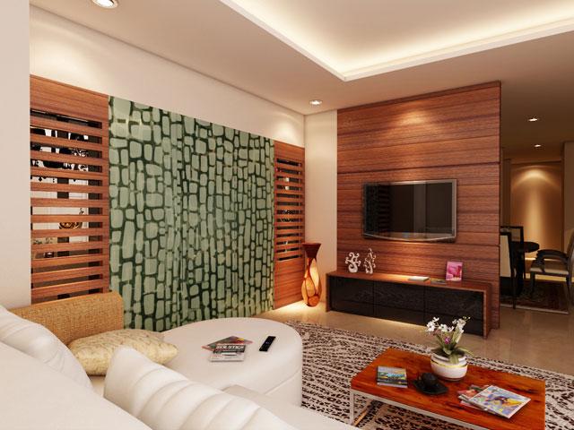 Living room Mrs. Monica BSD Residence