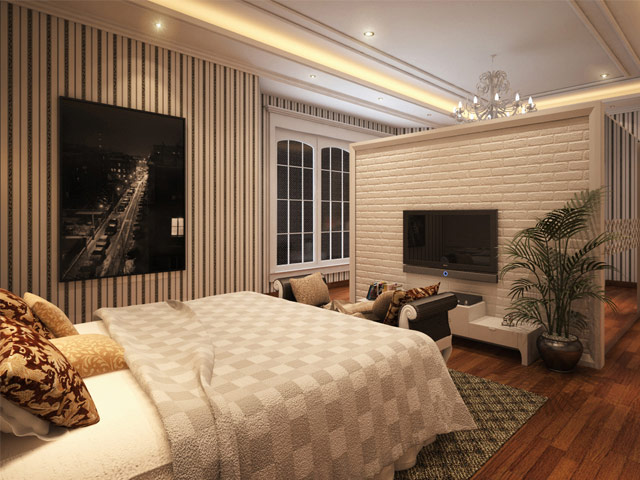 Master Bed 2 Mr. Andri Tebet Residence