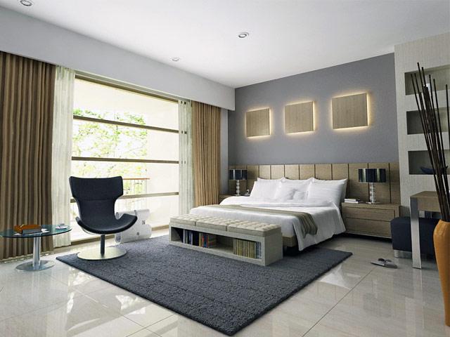 Master Bedroom 1 Mr. Suryo Ciputat Residence