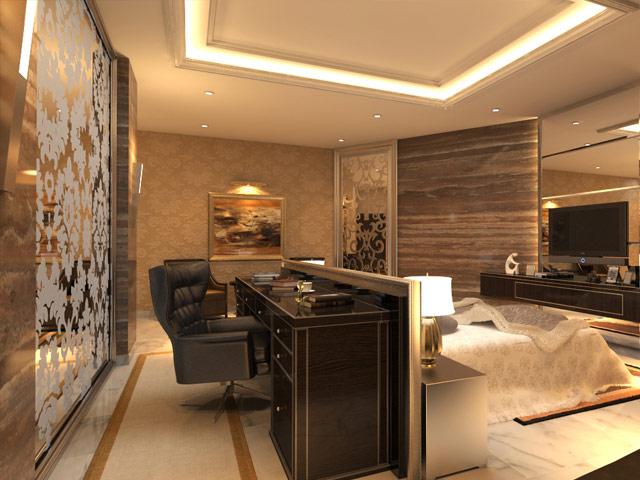 Master Bedroom 1 Mrs. Marla Cempaka Putih Residence