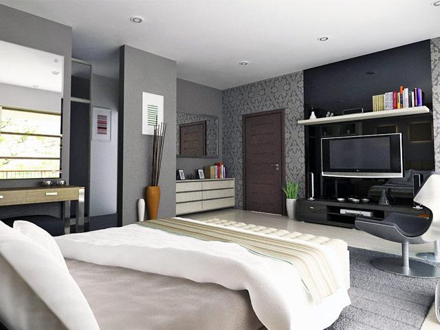 Master Bedroom Mr. Suryo Ciputat Residence