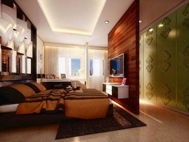 Master Bedroom Mrs. Monica BSD Residence