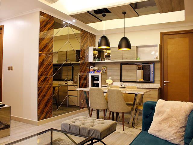 Taman anggrek residence dinning room